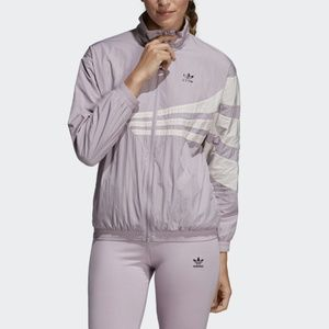 Adidas vintage inspired windbreaker